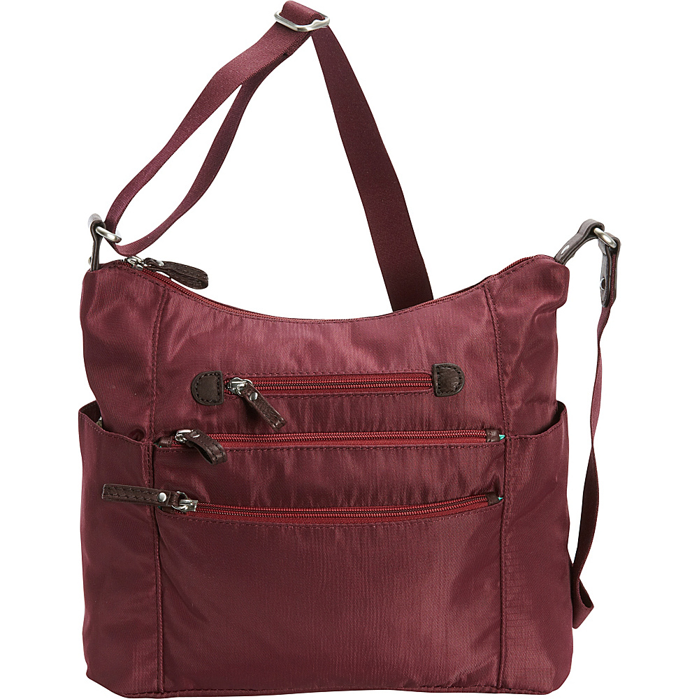 Osgoode Marley Everyday Tote Cranberry Osgoode Marley Fabric Handbags