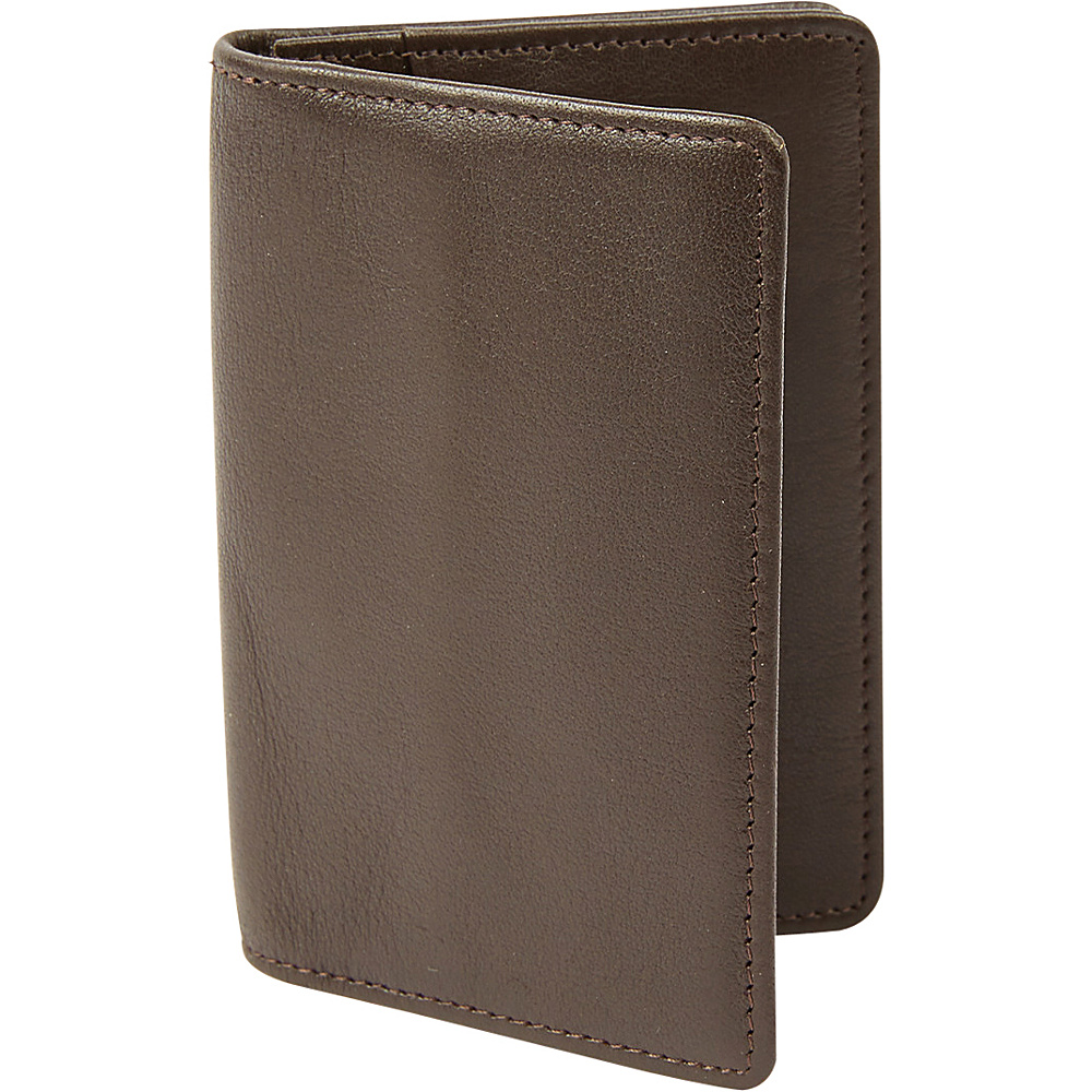 Tanners Avenue Premium Leather Gusset Card Case with ID window Brown Tanners Avenue Men s Wallets