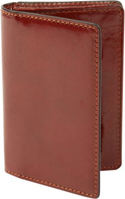 Tanners Avenue Premium Leather Gusset Card Case with ID window Cognac - Tanners Avenue Men's Wallets