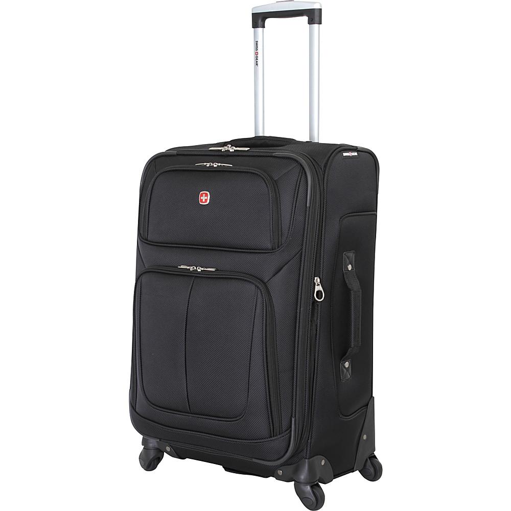 SwissGear Travel Gear 25 Spinner Black SwissGear Travel Gear Softside Checked