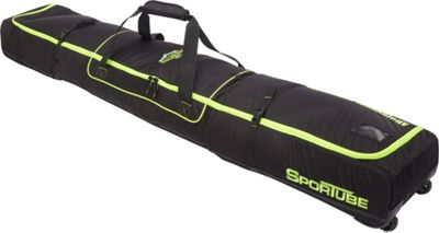 Sportube Ski Shield Double Ski Bag Green/Black - Sportube Ski and Snowboard Bags