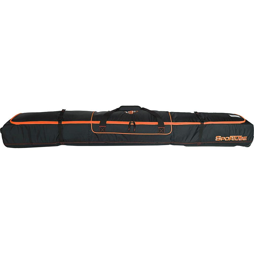 Sportube Ski Shield Double Ski Bag Orange/Black - Sportube Ski and Snowboard Bags