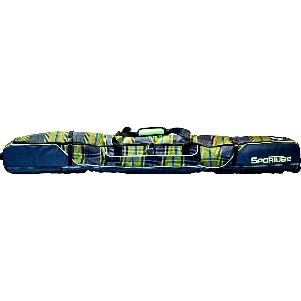 Sportube Ski Shield Double Ski Bag Plaid - Sportube Ski and Snowboard Bags