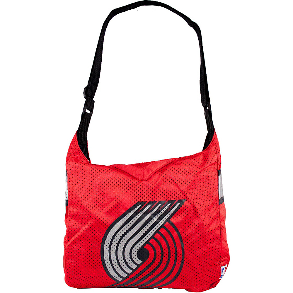 Littlearth Team Jersey Shoulder Bag - NBA Teams Portland Trail Blazers - Littlearth Fabric Handbags - Handbags, Fabric Handbags