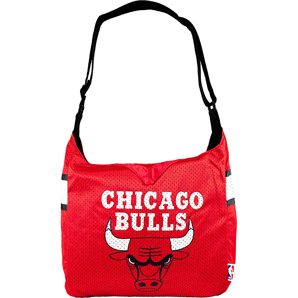 Littlearth Team Jersey Shoulder Bag - NBA Teams Chicago Bulls - Littlearth Fabric Handbags