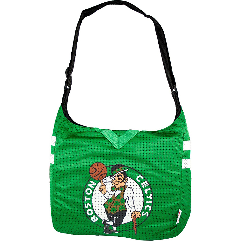 Littlearth Team Jersey Shoulder Bag - NBA Teams Boston Celtics - Littlearth Fabric Handbags - Handbags, Fabric Handbags
