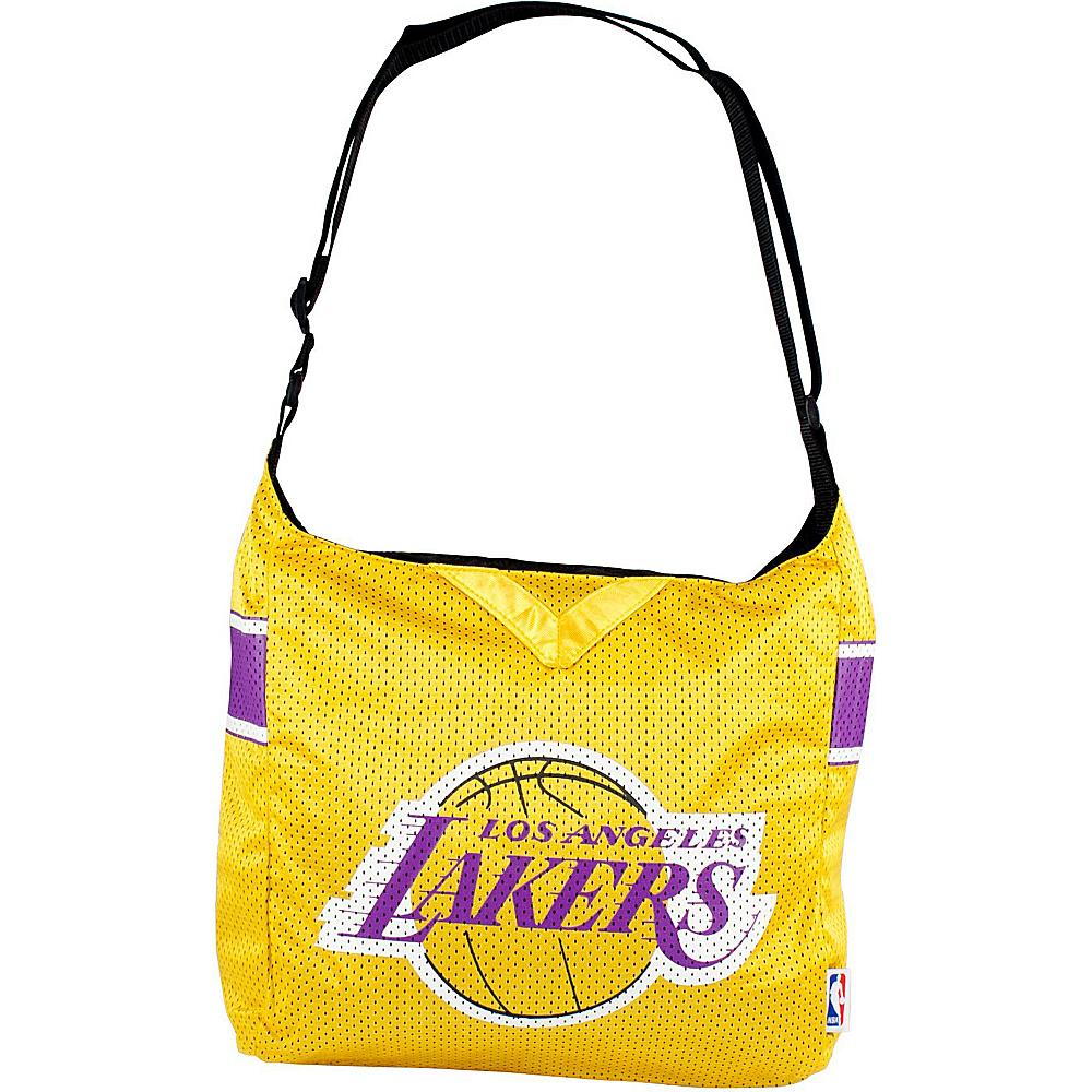 Littlearth Team Jersey Shoulder Bag - NBA Teams Los Angeles Lakers - Littlearth Fabric Handbags