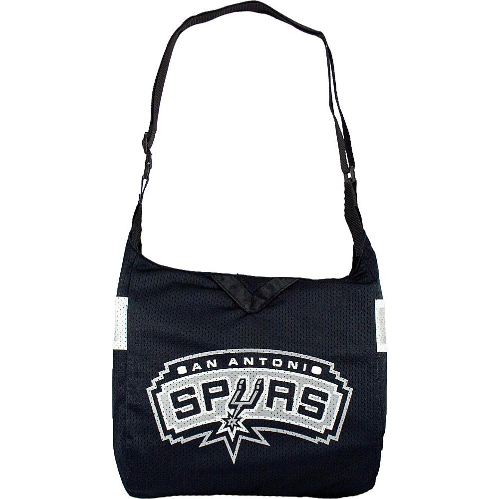 Littlearth Team Jersey Shoulder Bag - NBA Teams San Antonio Spurs - Littlearth Fabric Handbags - Handbags, Fabric Handbags