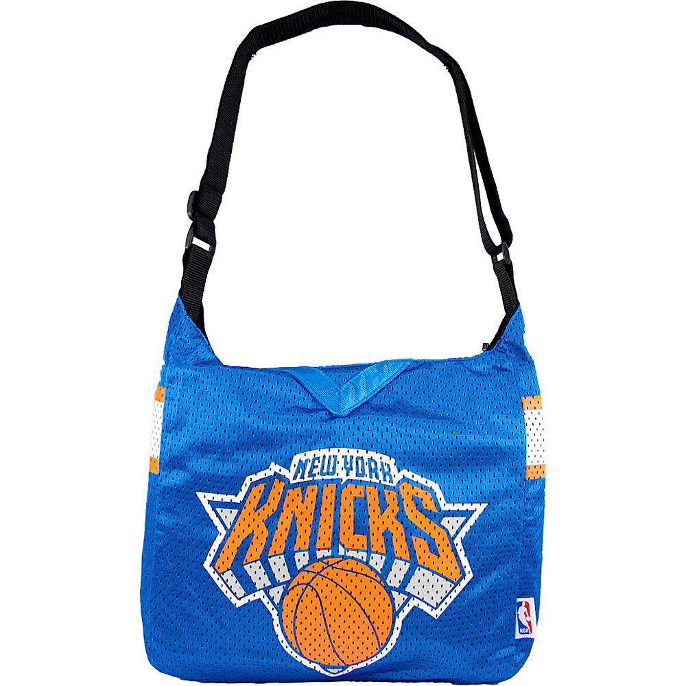 Littlearth Team Jersey Shoulder Bag - NBA Teams New York Knicks - Littlearth Fabric Handbags - Handbags, Fabric Handbags