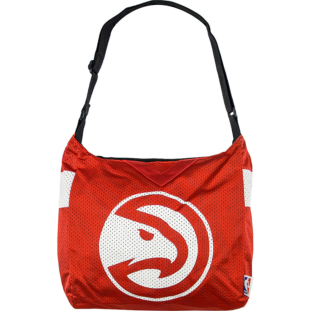 Littlearth Team Jersey Shoulder Bag - NBA Teams Atlanta Hawks - Littlearth Fabric Handbags - Handbags, Fabric Handbags