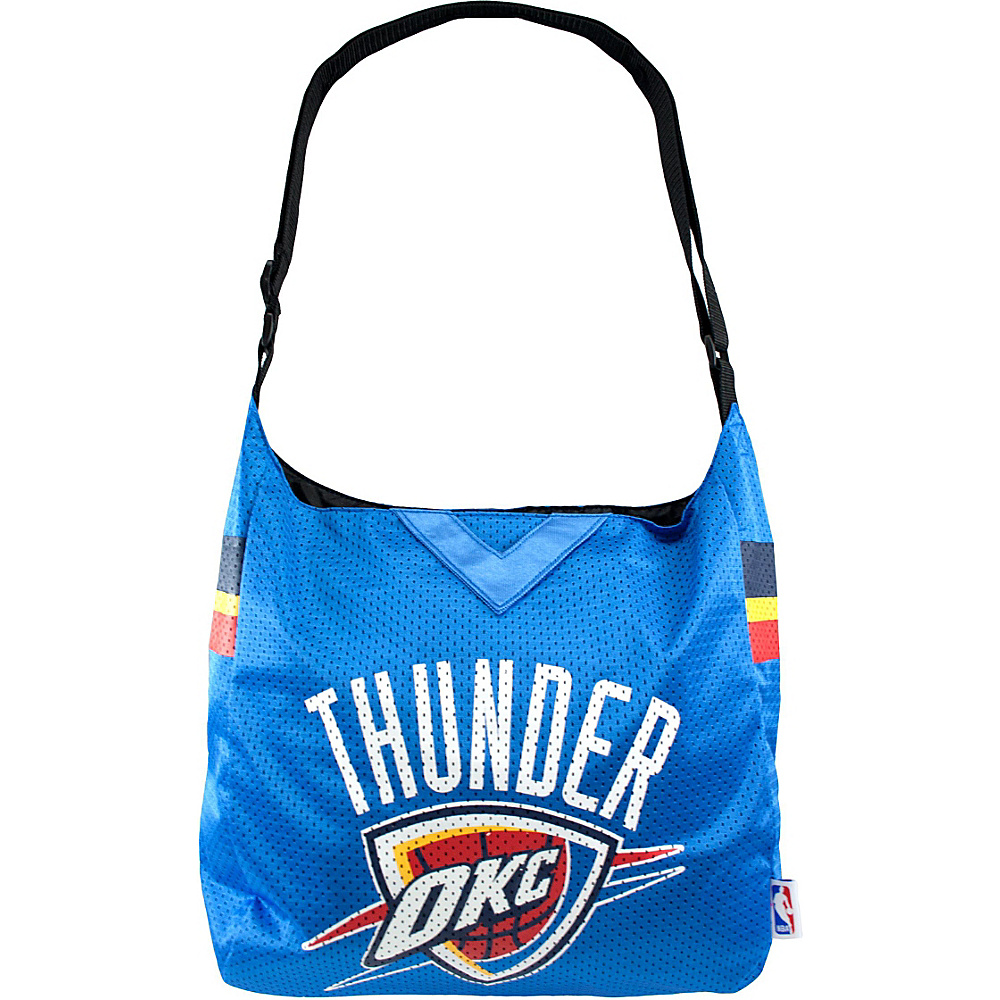 Littlearth Team Jersey Shoulder Bag - NBA Teams Oklahoma City Thunder - Littlearth Fabric Handbags - Handbags, Fabric Handbags
