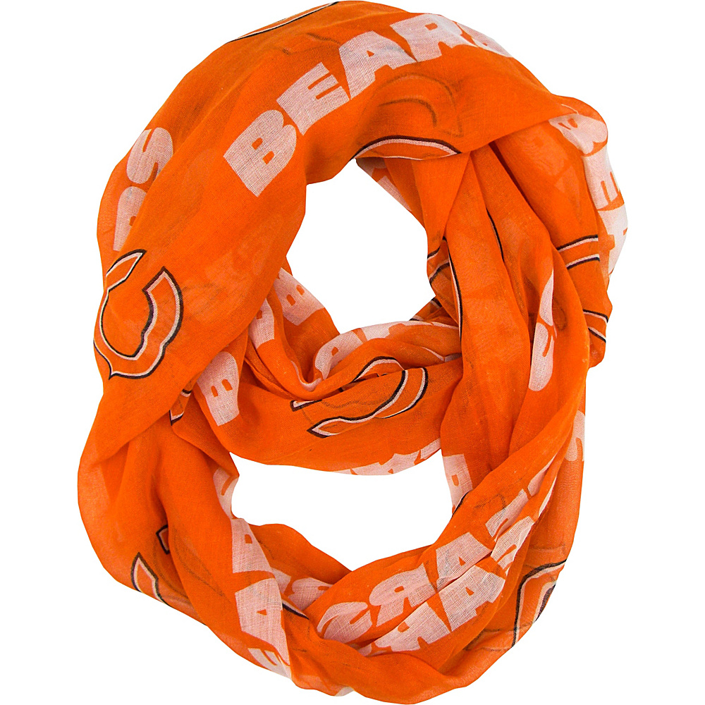 Littlearth Sheer Infinity Scarf Alternate - NFL Teams Chicago Bears - Littlearth Hats/Gloves/Scarves - Fashion Accessories, Hats/Gloves/Scarves