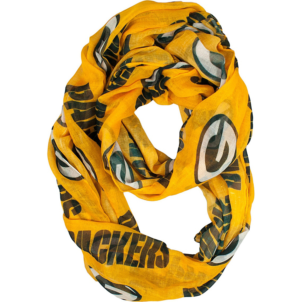 Littlearth Sheer Infinity Scarf Alternate - NFL Teams Green Bay Packers - Littlearth Hats/Gloves/Scarves - Fashion Accessories, Hats/Gloves/Scarves