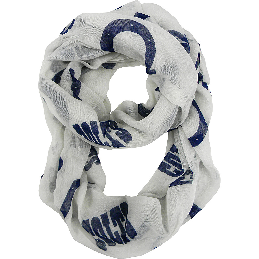 Littlearth Sheer Infinity Scarf Alternate - NFL Teams Indianapolis Colts - Littlearth Hats/Gloves/Scarves - Fashion Accessories, Hats/Gloves/Scarves