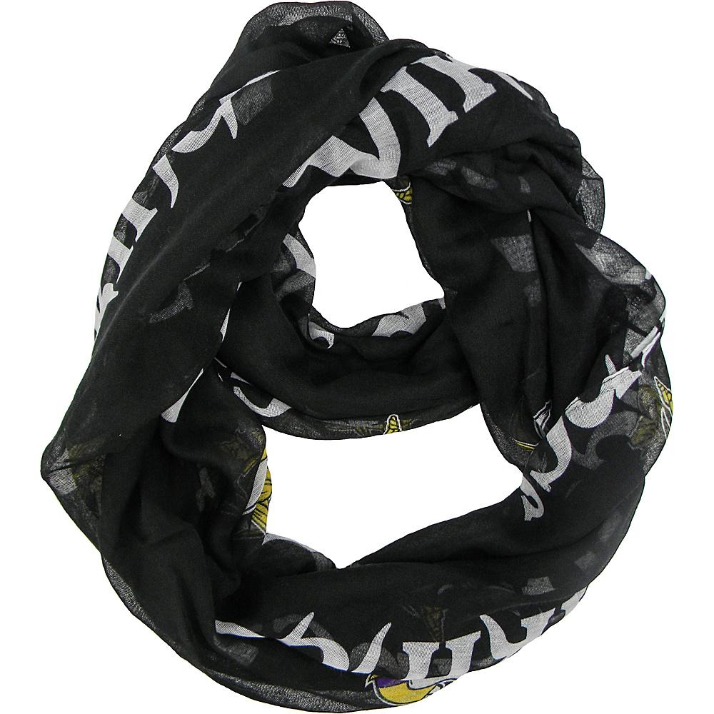 Littlearth Sheer Infinity Scarf Alternate - NFL Teams Minnesota Vikings - Littlearth Hats/Gloves/Scarves - Fashion Accessories, Hats/Gloves/Scarves