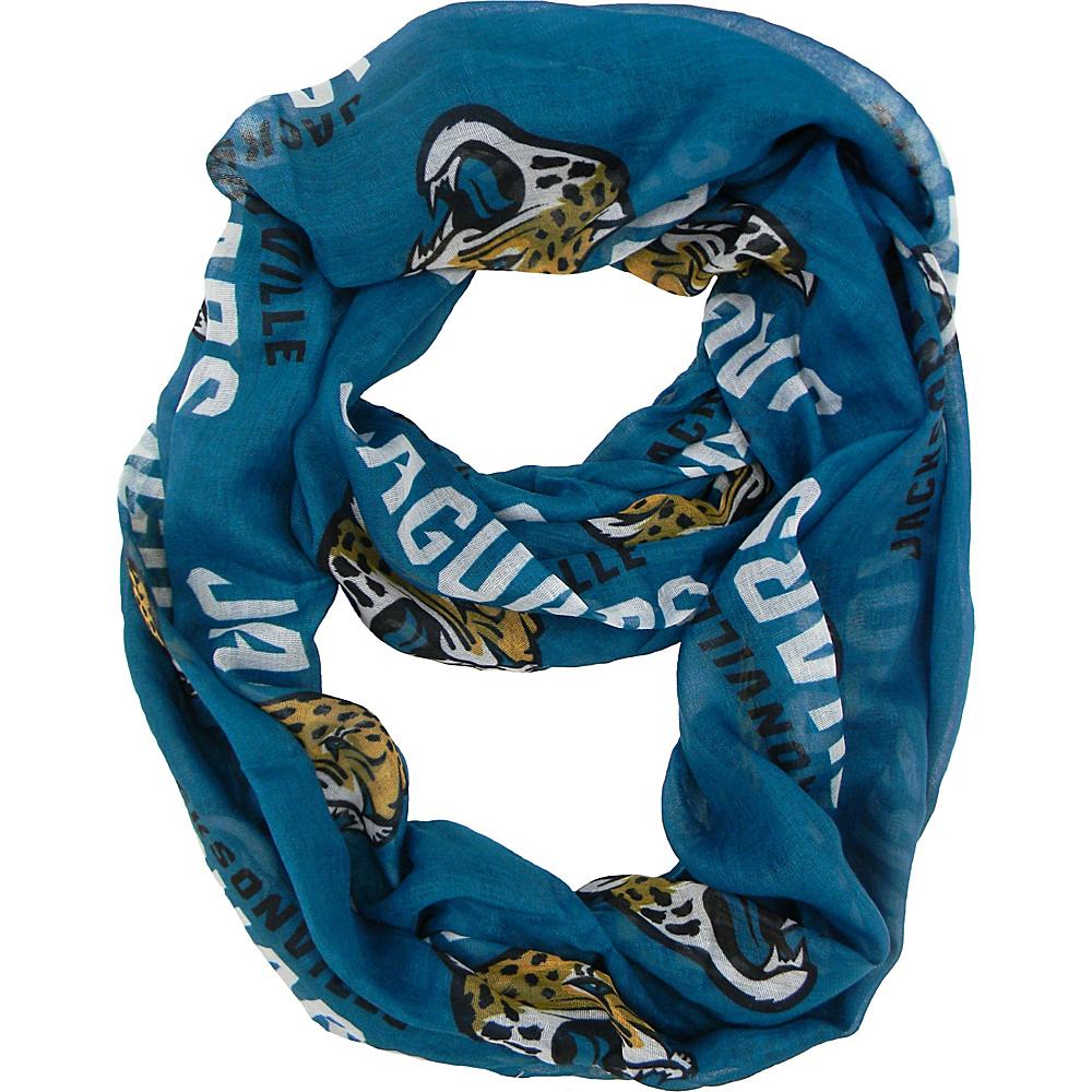 Littlearth Sheer Infinity Scarf Alternate - NFL Teams Jacksonville Jaguar - Littlearth Hats/Gloves/Scarves - Fashion Accessories, Hats/Gloves/Scarves