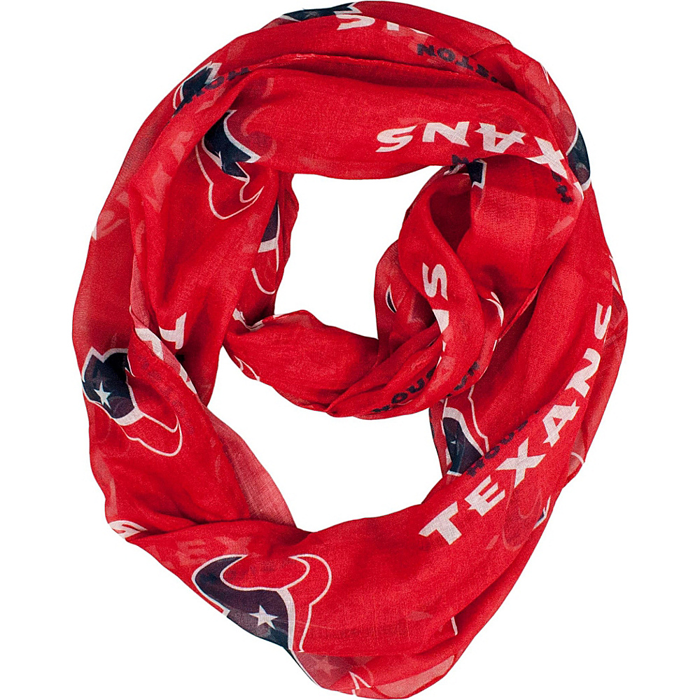Littlearth Sheer Infinity Scarf Alternate - NFL Teams Houston Texans - Littlearth Hats/Gloves/Scarves - Fashion Accessories, Hats/Gloves/Scarves