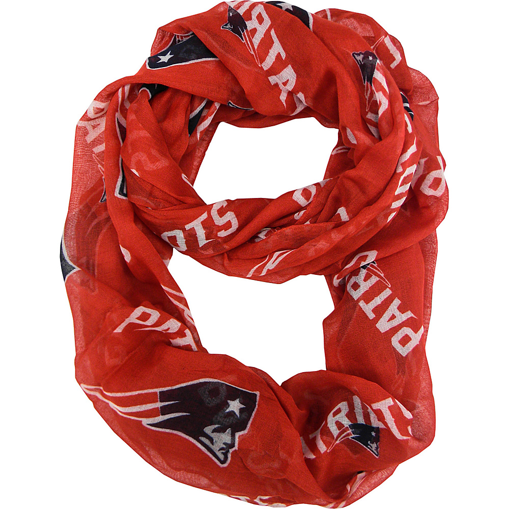Littlearth Sheer Infinity Scarf Alternate - NFL Teams New England Patriots - Littlearth Hats/Gloves/Scarves - Fashion Accessories, Hats/Gloves/Scarves