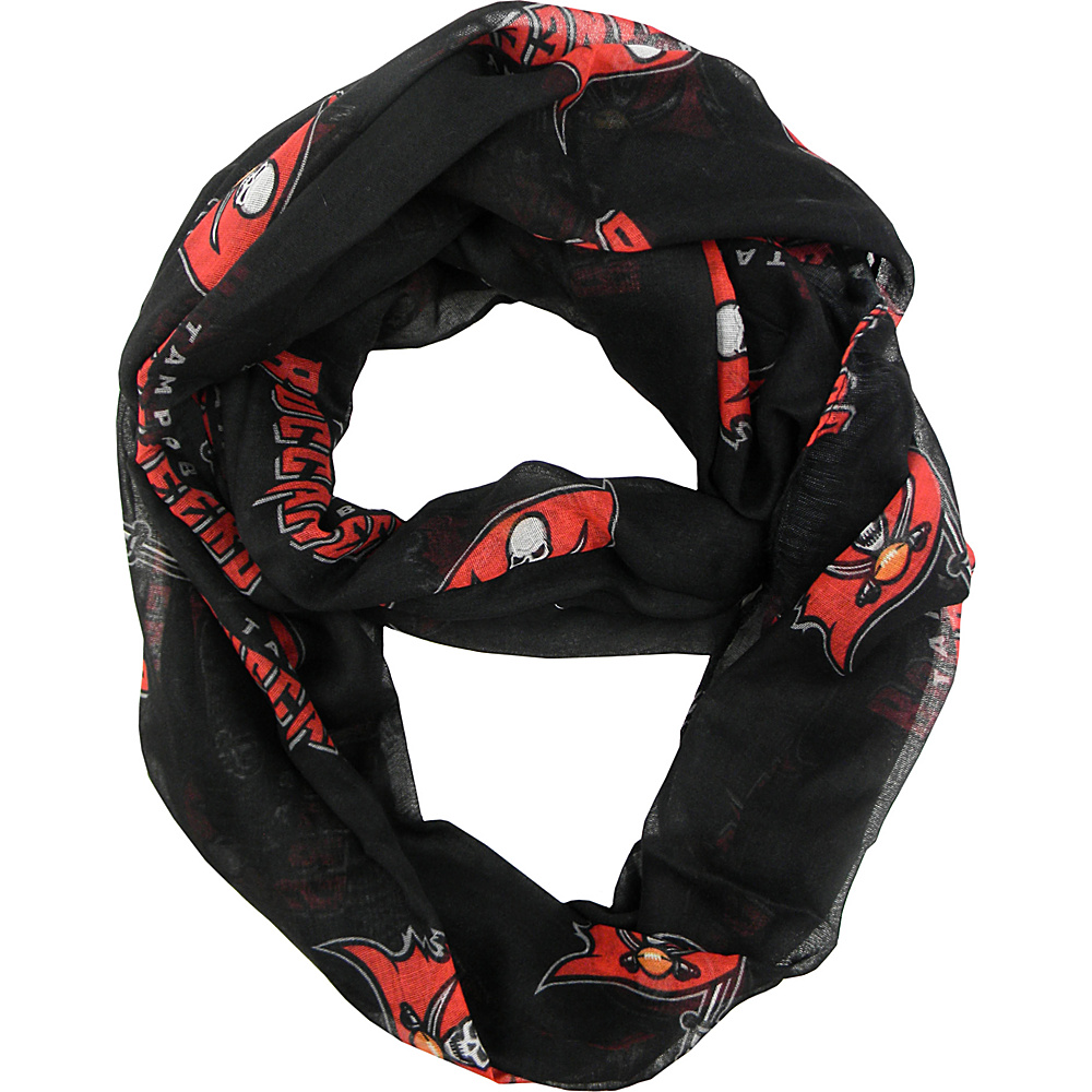 Littlearth Sheer Infinity Scarf Alternate - NFL Teams Tampa Bay Buccaneers - Littlearth Hats/Gloves/Scarves - Fashion Accessories, Hats/Gloves/Scarves