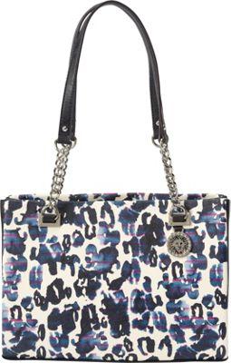 Anne Klein Time to Indulge Small Tote Blue Multi - Anne Klein Manmade Handbags