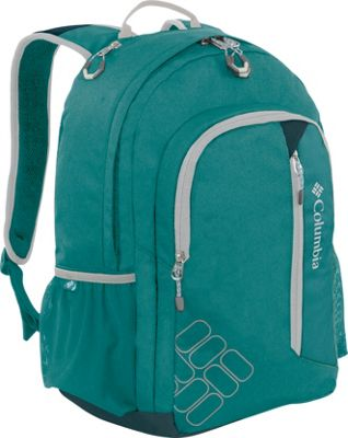 Columbia Sportswear Tioga Pass Pack Geyser - Columbia Sportswear Business & Laptop Backpacks