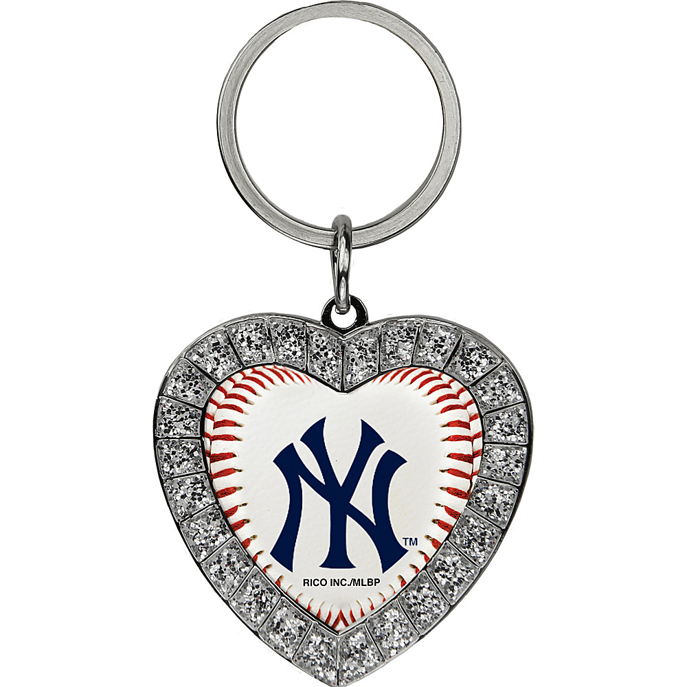 Luggage Spotters MLB NY Yankees Rhinestone Key Chain Blue - Luggage Spotters Women's SLG Other