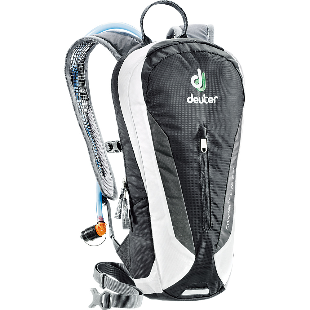 Deuter Compact Lite 3L with Reservoir Black White Deuter Hydration Packs and Bottles
