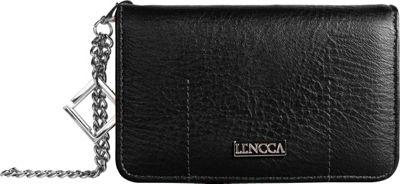 Lencca Kymira II Wallet Organizer Clutch Black/ Marine - Lencca Manmade Handbags