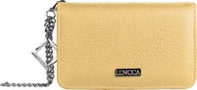 Lencca Kymira II Wallet Organizer Clutch Tan/ Wine - Lencca Manmade Handbags