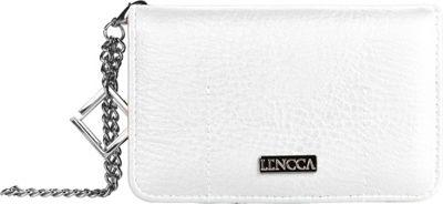Lencca Kymira II Wallet Organizer Clutch White/ Orange - Lencca Manmade Handbags