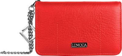Lencca Kymira II Wallet Organizer Clutch Magenta/ Plum - Lencca Manmade Handbags