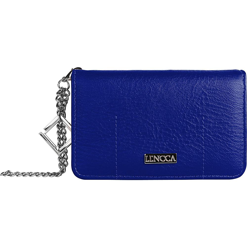 Lencca Kymira II Wallet Organizer Clutch Royal Sky Lencca Manmade Handbags