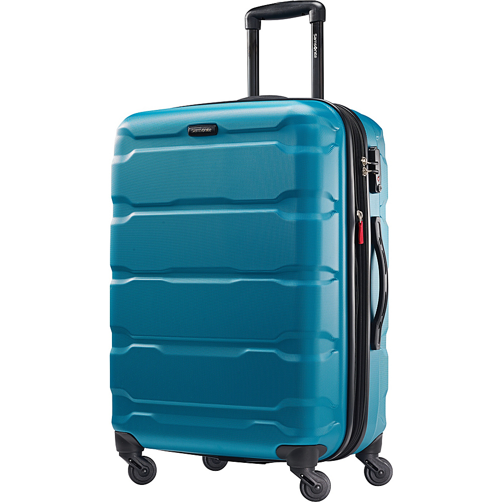 Samsonite Omni PC Hardside Spinner 24 Caribbean Blue Samsonite Hardside Checked