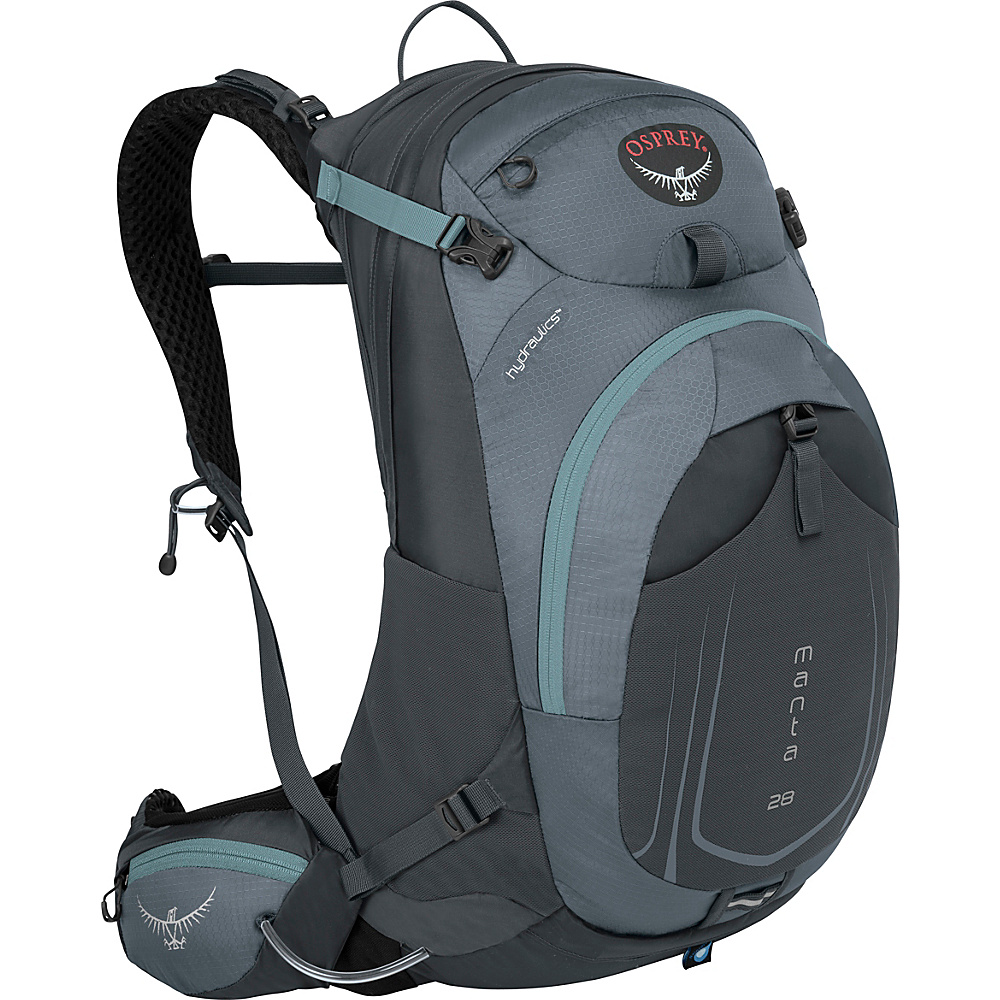 Osprey Manta AG 28 Hiking Pack Fossil Grey - S/M - Osprey Day Hiking Backpacks - Outdoor, Day Hiking Backpacks
