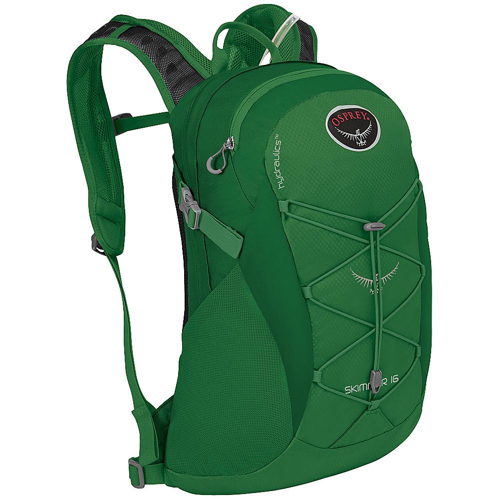 Osprey Skimmer 16 Hiking Backpack Jade Green - Osprey Backpacking Packs - Outdoor, Backpacking Packs