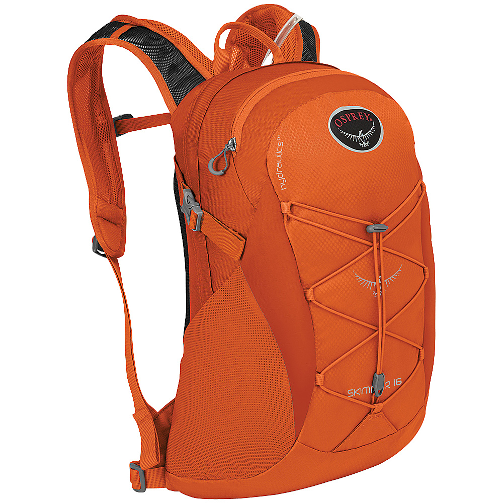 Osprey Skimmer 16 Hiking Backpack Coral Orange - Osprey Backpacking Packs - Outdoor, Backpacking Packs