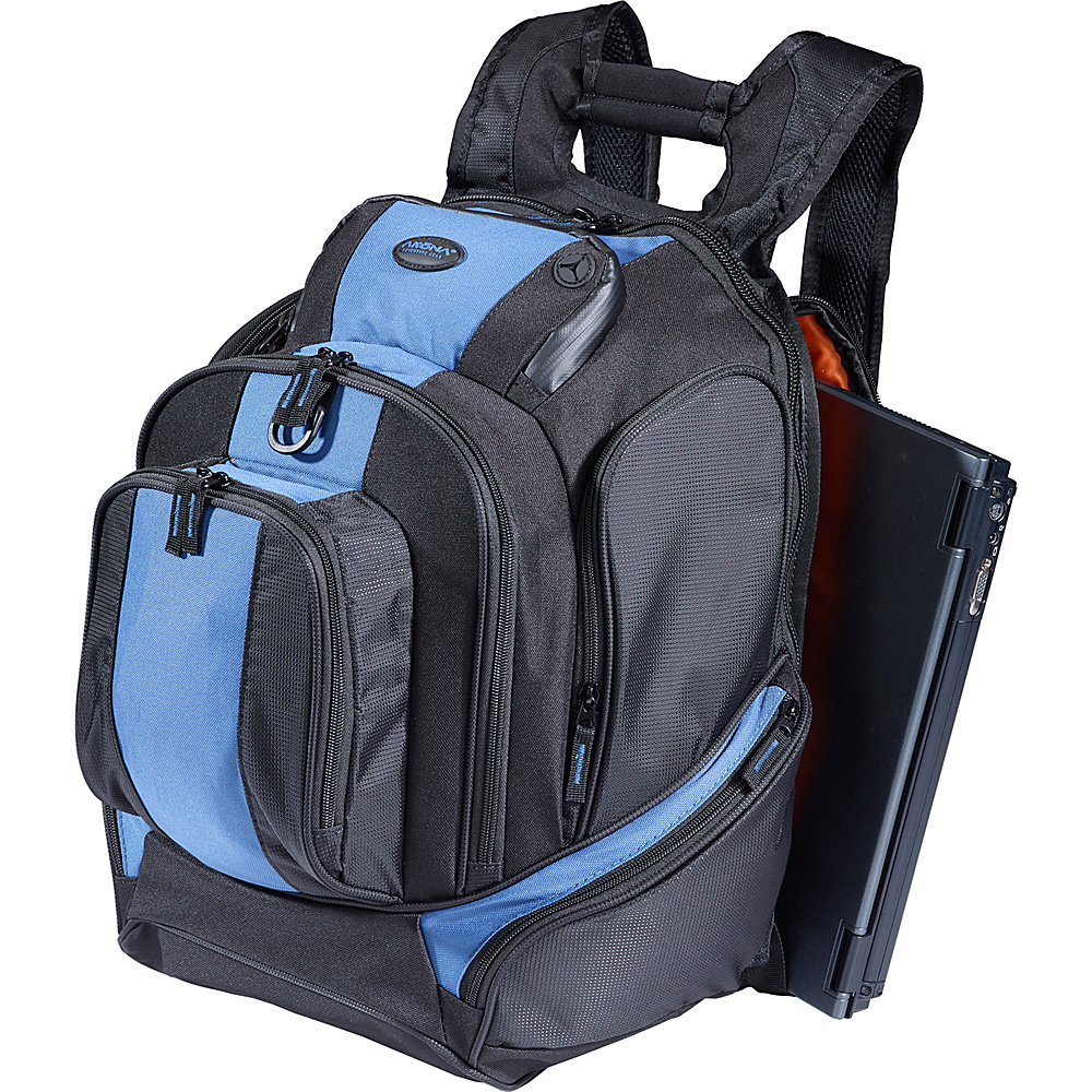 AKONA Commuter Laptop Backpack Black - AKONA Laptop Backpacks