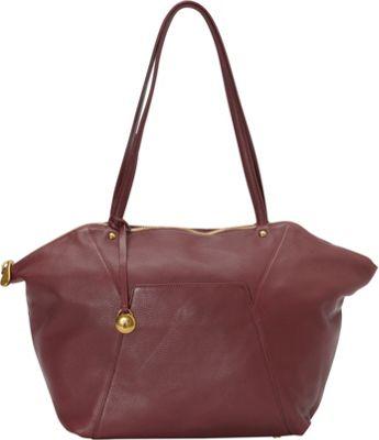 Hobo Bayou Handbag Wine - Hobo Leather Handbags