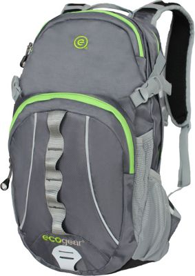ecogear Peregrine 2L Hydration Pack Charcoal - ecogear Hydration Packs and Bottles
