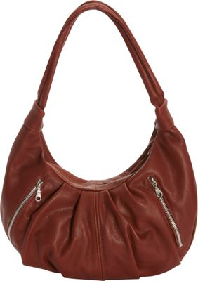 Victoria Leather Tessa Shoulder Bag Cognac - Victoria Leather Leather Handbags