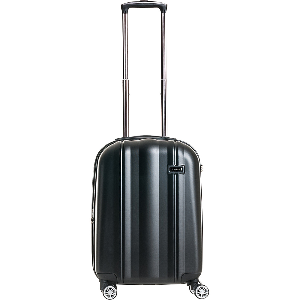 CalPak Winton 20 Expandable Carry On Black CalPak Softside Carry On