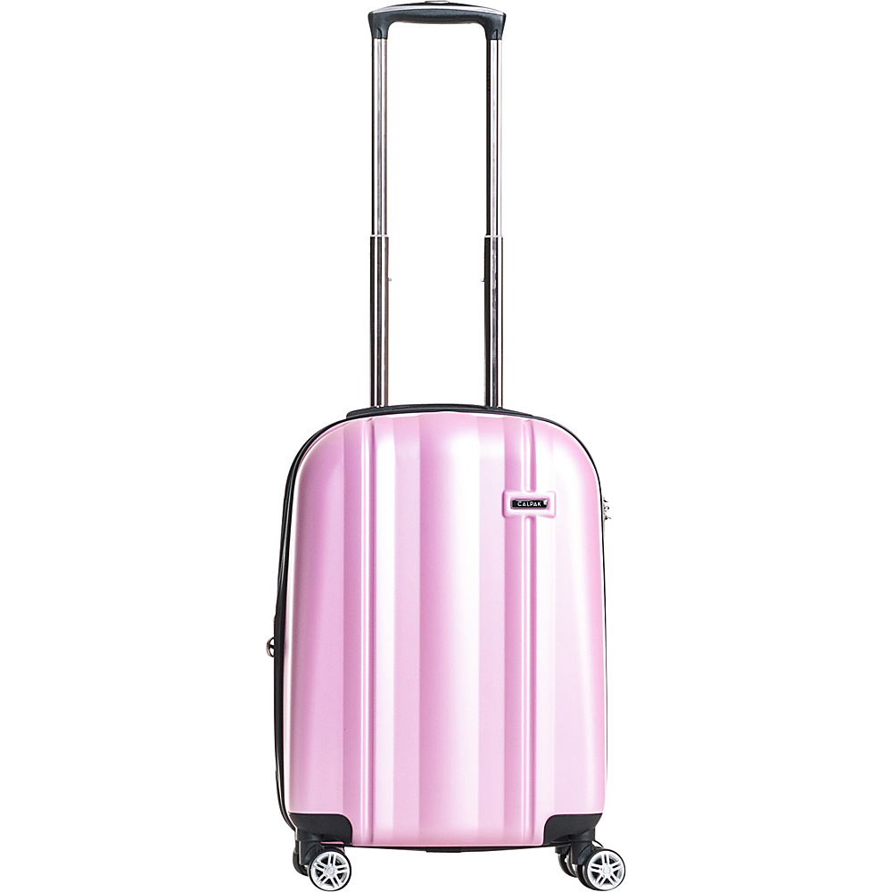 CalPak Winton 20 Expandable Carry On Light Pink CalPak Softside Carry On