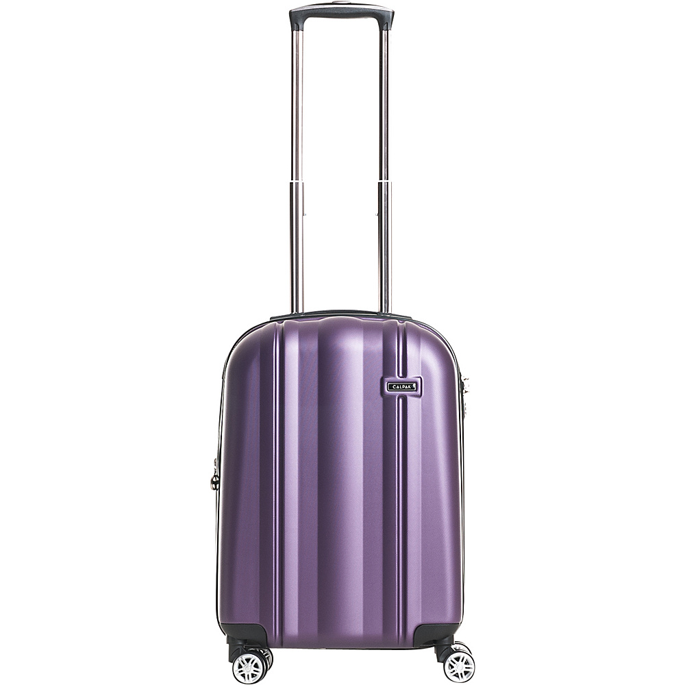 CalPak Winton 20 Expandable Carry On Purple CalPak Softside Carry On