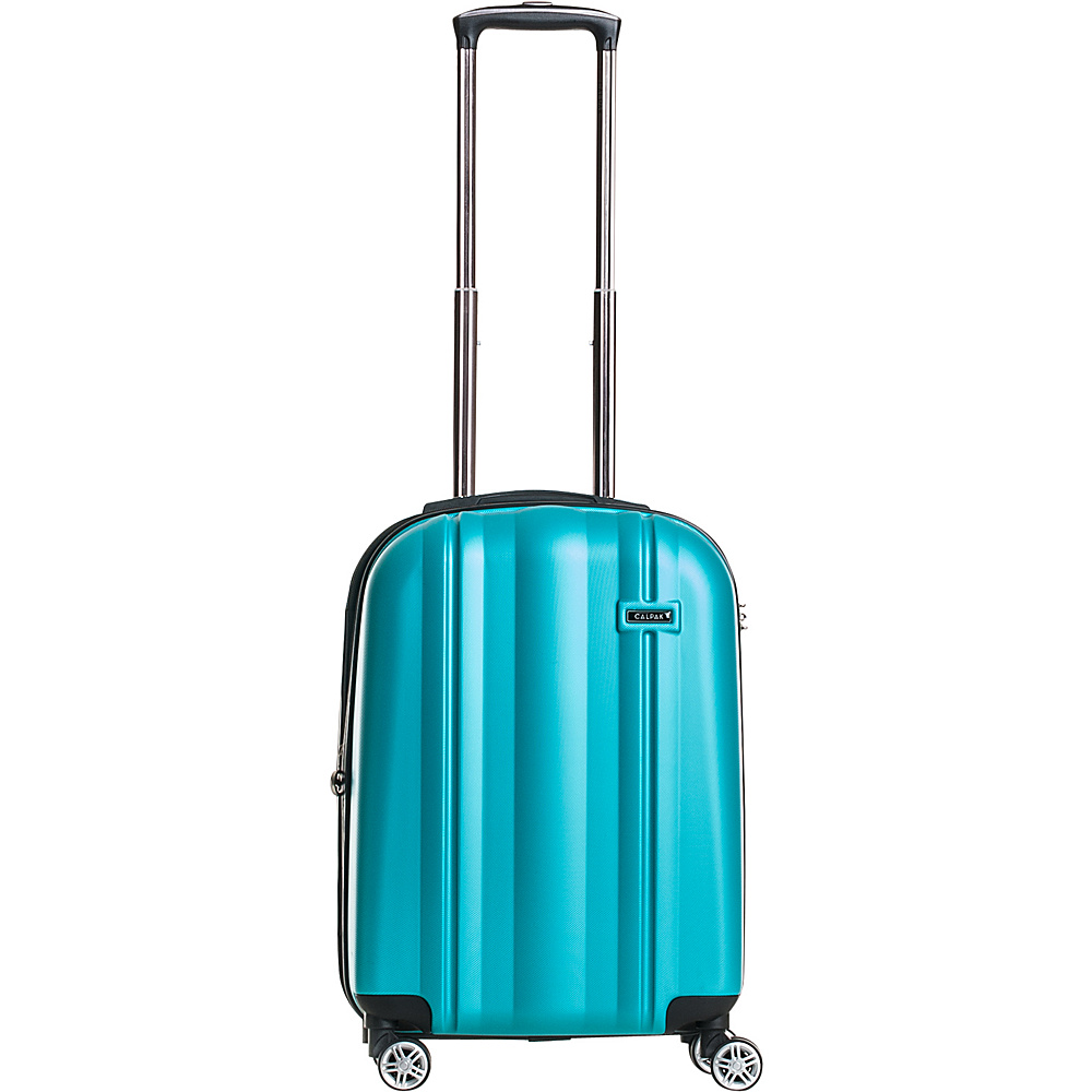 CalPak Winton 20 Expandable Carry On Turquoise CalPak Softside Carry On