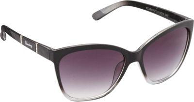 Unionbay Eyewear Rhinestone Cat Eye Sunglasses Black Fade - Unionbay Eyewear Sunglasses