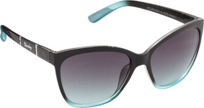Unionbay Eyewear Rhinestone Cat Eye Sunglasses Navy Aqua - Unionbay Eyewear Sunglasses