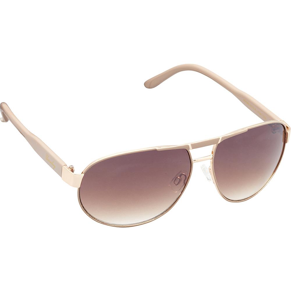 Unionbay Eyewear Metal Aviator Sunglasses Tan Unionbay Eyewear Sunglasses