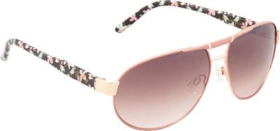Unionbay Eyewear Metal Aviator Sunglasses Rosegold Fade - Unionbay Eyewear Sunglasses