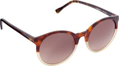 Elie Tahari Sunglasses Retro Round Sunglasses Tortoise/Nude - Elie Tahari Sunglasses Sunglasses