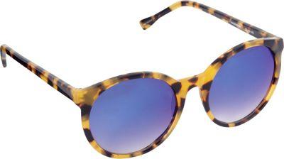 Elie Tahari Sunglasses Retro Round Sunglasses Tokyo Tortoise - Elie Tahari Sunglasses Sunglasses